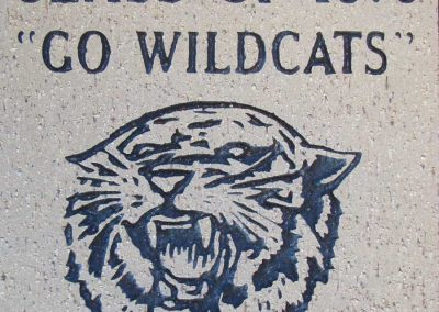 Mulvane-Education-Foundation-Victory-Lane-Commemorative-Brick-Class-of-1970-w-Wildcat-900