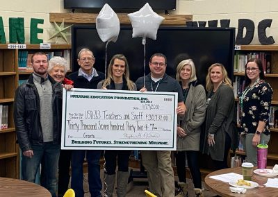 2020 Grant Award to Mulvane Middle School